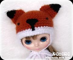 Blythe Foxy Hat