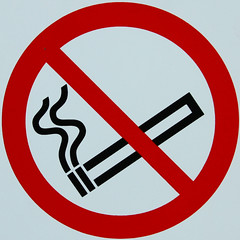 No smoking (Leo Reynolds) Tags: sign canon eos iso100 7d squaredcircle f80 signsafety signno 53mm 0008sec hpexif signnosmoking signcirclebar xleol30x sqset085