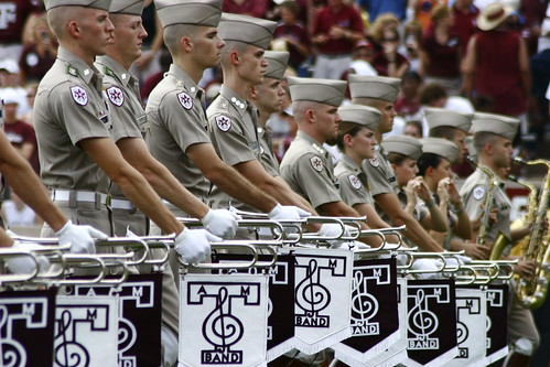 Aggie Band Flags