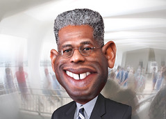 Allen West - Caricature