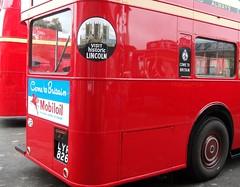 London transport RT2775 Brooklands 21/10/12. (Ledlon89) Tags: usa canada bus london tour transport lt parkroyal londonbus brooklands vintagebus lte aecregent rtbus alltypesoftransport