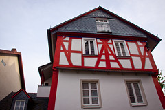 Home in Idstein, Germany (ChrisGoldNY) Tags: travel houses homes red architecture germany deutschland europa europe european forsale eu villages historic viajes german posters albumcover alemania bookcover towns vacations bookcovers albumcovers deutsche gridskipper idstein deutscheland jaunted chrisgoldny chrisgoldberg chrisgoldphoto