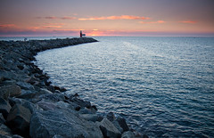 North Mole, Fremantle W.A (Marc Russo (Australia)) Tags: ocean light sunset lighthouse house fish beach port fishing harbour north marc mole fremantle groyne westernaustralia russo northmole marcrusso