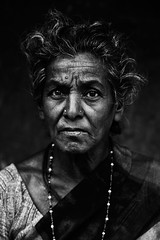 Untitled... (Rakesh JV) Tags: old portrait india white black look photography photo nikon humanity expression indian ngc age stare withered chennai 70200 tamil f28 bnw jv nadu rakesh cwc rjv parrys vr2 d7000 chennaiweekendclickers
