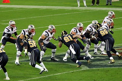Rams rush in as Pats stand tall (MustangMarkF) Tags: new england london football nfl stlouis snap international american series patriots rams pats scrimmage americanfootball wembley defensiveline newenglandpatriots stlouisrams nationalfootballleague offensiveline internationalseries 28thoctober2012 october282012 patsatrams patsrams