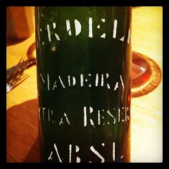 "Old, old Verdelho from the Olim brothers; Artur Barros e Sousa. #madeira #madaboutmadeira #wine • <a style=""font-size:0.8em;"" href=""http://www.flickr.com/photos/85787433@N08/8136129862/"" target=""_blank"">View on Flickr</a>"
