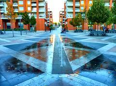 Toulouse - Place de la Lgion d'Honneur (Iris.photo@) Tags: france place toulouse marengo hautegaronne lgiondhonneur mediathque cabanis allespompidou