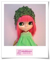 Gorrito Green Roses