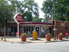Dairy Queen, Park Ridge, IL (stoneofzanzibar) Tags: old summer food vintage fastfood retro icecream roadside dairyqueen parkridge