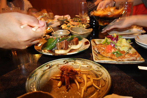 Okinawan cuisine/夜のメニュー