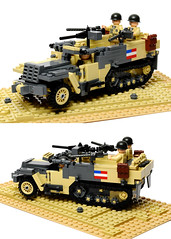 M2 Half Track (Florida Shoooter) Tags: lego northafrica tunisia ww2 m2halftrack