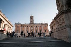 The Capitoline Hill (MrBlackSun) Tags: italy rome michelangelo campidoglio piazzadelcampidoglio capitolinehill cordonata rome2012 italy2012