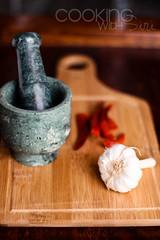 Garlic-Chilli in making! (Sirime) Tags: food recipe pasta delicious garlic spicy recipes easy chilli quick chickpeas