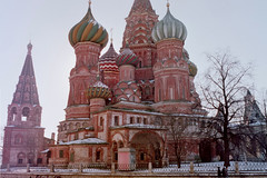 Geometric Center of Moscow (BKHagar *Kim*) Tags: november russia moscow 1999 agfa bkhagar