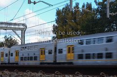 CityRail train at speed (TransportVisions) Tags: train track suburban sydney rail railway australia newsouthwales newtown cityrail