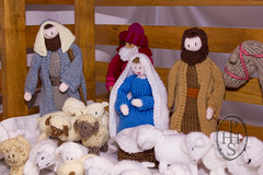 Knitivity or Knitted Nativity at St John The Baptist Church Dodworth (121) (PHH Sykes) Tags: church saint st john baptist knitted figures nativity the dodworth knitivity