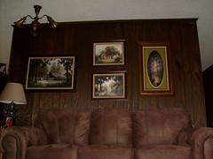 Room with Paneling