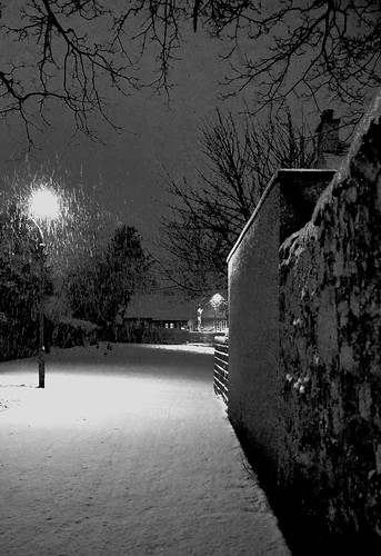 snowfall preston village 2013