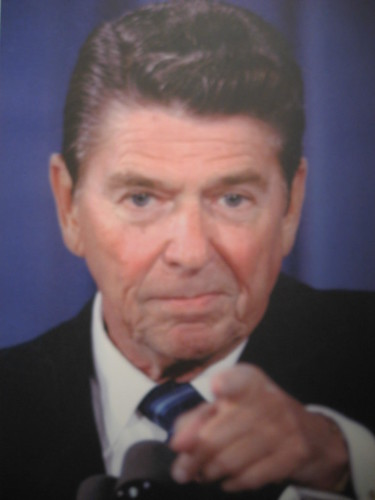 Reagan pointing, From FlickrPhotos