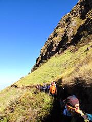 El Tablon -  el grupo en caminata por las faldas de El Tablon (exedu) Tags: trekking ecuador hiking natur natuur grupo gunung  caminata sendero montaas alam montes tablon  bjerg     montaasdelecuador