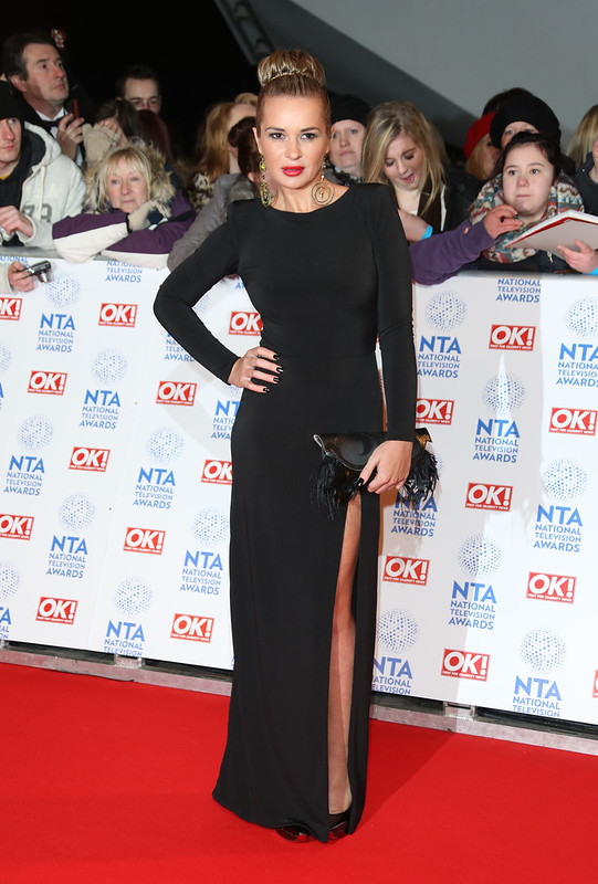 National Television Awards 2013 held at the O2 arena - Arrivals Featuring: Kierston Wareing - WENN.com