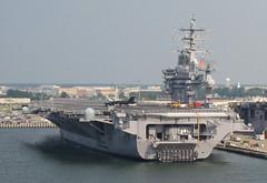 USS Dwight D. Eisenhower CVN-69 (twm1340) Tags: cruise station bay virginia ship aircraft norfolk navy nuclear explore va passenger royalcaribbean naval 2008 usn chesapeake uss carrier eisenhower dwightdeisenhower cvn69 grandeuroftheseas