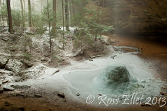 Frozen Ash Cave (rellet17) Tags: winter snow cold ice rocks january waterfalls rivers streams hockinghills ohilo