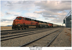 BNSF 6721, 9580 & 7297 (Robert W. Thomson) Tags: railroad train montana diesel railway trains locomotive trainengine bigmac ge bnsf moccasin emd burlingtonnorthernsantafe es44dc gevo sd70 sd70m sd70mac es44 evolutionseries sixaxle es44c4