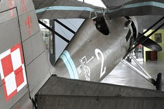 PZL P.11c (bazylek100) Tags: museum airplane war fighter aircraft aviation wwii poland polska krakw cracow worldwar 1939 muzeum secondworldwar p11 godo strzaa samolot wojna pzl krakoff polishairforce lotnictwa p11c wingedarrow septembercampaign septemberwar 121eskadra iii2dywizjon
