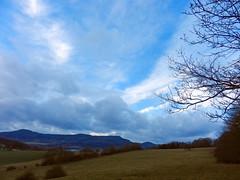 Evening sky (LeelooDallas) Tags: winter tree landscape nikon europe day republic czech cloudy dana novy coolpix bor lusitania hory s9100 iwachow luzicke