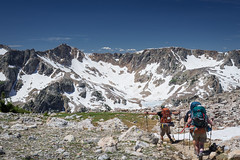 2016Upperpaintbrush13s-46 (skiserge1) Tags: park camping lake mountains america freedom hiking grand jackson national backpacking wyoming teton tetons