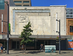 Theatre - 851 Granville Street (Heritage Vancouver) Tags: vancouver theatre theater paradise globe coronet greatwhiteway neon cinema pictureshow artmoderne facade heritage history development granvillestreet downtownvancouver canada