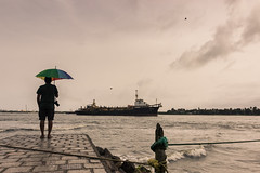 Kochi (BALAJI SEETHARAMAN) Tags: cwc cwc547 chennaiweekendclickers kerala kochi cochin southindia monsoon port ship sky morning canon600d 1635mm