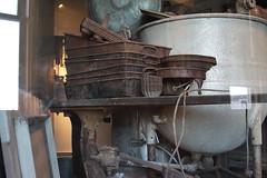 Rusty Remains (lefeber) Tags: newyork newyorkcity nyc ellisisland immigrationstation immigrationmuseum museum exhibit abandoned rust rustymetal weathered kitchenutensils pots pans mixingbowl