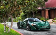 Green Carbon. (Alex Penfold) Tags: mclaren p1 green carbon fibre fiber supercars supercar super car cars autos alex penfold mecum 2016 carweek monterey