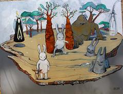 Aleister 236 2 (mc1984) Tags: mc1984 aleister236 rabbit monsters carrots tree croûte arboles painting flickr