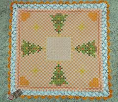 2 (AneloreSMaschke) Tags: tecido xadrez bordado natal artesanato handmade bordadoxadrez