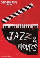 Jazz & Movies (Fabian Emmanuel Illustration-Graphic design) Tags: jazz jazzmusic music movies poster design diseo fabianemmanuel movie cinema dance arts poland theatre