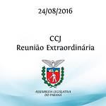 CCJ - Reuni�o Extraordin�ria 24/08/2016