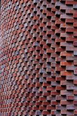 Das Eckige muss ins Runde (RaiLui) Tags: hamburg pattern muster ziegelstein fassade fassadengestaltung brick architektur textur