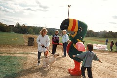 Balloon Fest (railynnelson) Tags: balloonfest hotairballoon harrisburg pennsylvania 1990 wink104 mascot radio