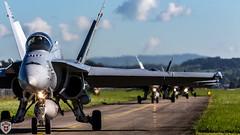 Fa-18 Hornet @ Emmen Air Base (brutus_ch) Tags: fa18 fa18hornet hornet swissairfoce schweiz swiss swissarmy emmenairbase emmen aviation military jet power