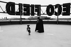 A young Griffey isn't so sure about Darth Vader. (poopoorama) Tags: dannyngan dannynganphotography garrisontitan mariners nikoncorporation nikond600 safecofield starwars starwarsday starwarsweekend seattle washington unitedstates