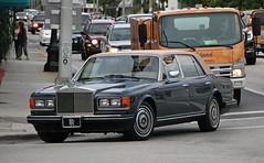 Rolls Royce Silver Spur (SPV Automotive) Tags: rolls royce silver spur sedan classic exotic luxury car blue