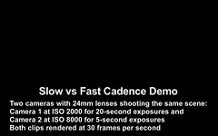 Demo of Slow vs Fast Time-Lapse Cadence (Amazing Sky Photography) Tags: mars milkyway nightscape planets saturn timelapse blackfootcrossinghistoricpark siksika tutorial bowriver