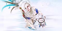 BLUE BIRD (Annyzinh Oliveira) Tags: ersch le coq dor the fantasy collective mc sanarae event truth hair bauhaus movement