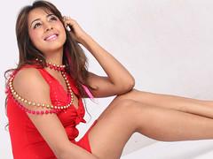 South Actress SANJJANAA Photos Set-7 (13)
