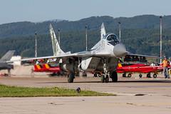 Slovak Air Force /  Mikoyan Gurevich MiG-29A  / 0921 / Slia Air Base / 27.08.16 (Marcin Sikorzak) Tags: slovak air force mikoyan gurevich mig29a 0921 slia base 270816