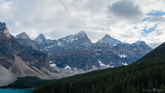 DSC_0020 (Adrian De Lisle) Tags: lakemoraine banffnationalpark banff mountains clouds