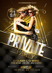 Luxury Private Party | Flyer Template (Rome Creation) Tags: anniversary best birthday black celebration champagne chicposter classy decorations deluxe dj fashion festival glamour gold holiday hot invitation luxe luxurious luxuryevent music newyear nightclub party printflyer private riches sexyflyer